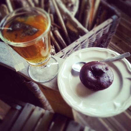 Villa Providence : Tea time auf der Terrasse