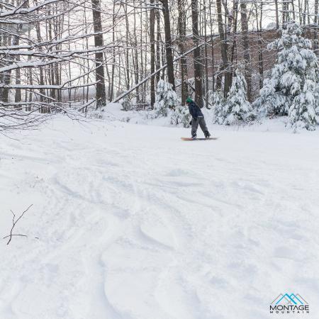 Montage Mountain: Fresh powder on Montage's trails