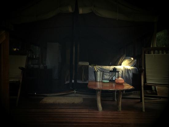 Paperbark Camp: ORIGINAL TENT ;)