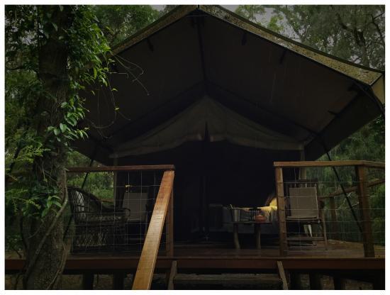 Paperbark Camp: ORIGINAL TENT :)