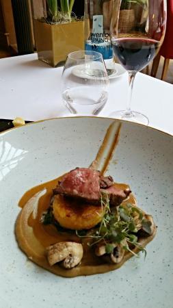 Twice baked soufflé of wild mushrooms and blue cheese: fotografía de ...