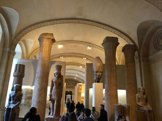 Mus e du louvre egypte antique photo de mus e du louvre paris tripadvisor - Musee du louvre billet coupe file ...