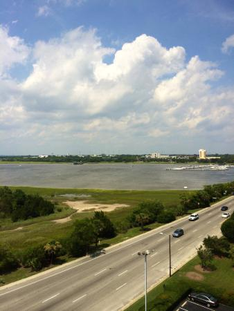 Holiday Inn Charleston Riverview: The view from our room