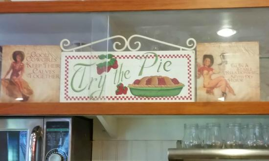 Original Jack's Country Kitchen: Love the signage at Jacks