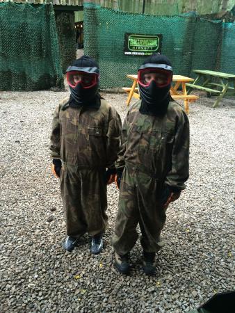 Skirmish Paintball Games Nottingham: The boys