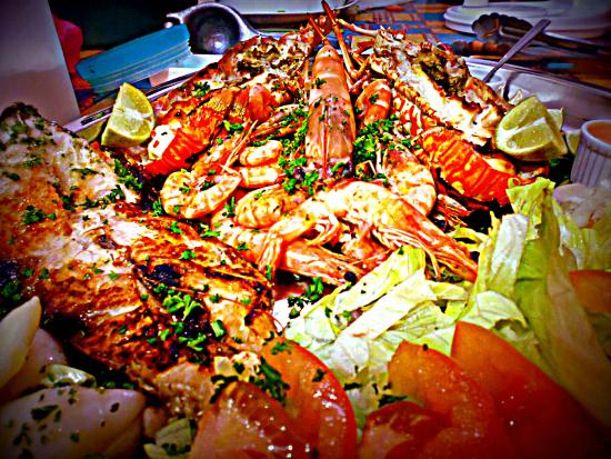 Tucano : grigliatona mista di mare