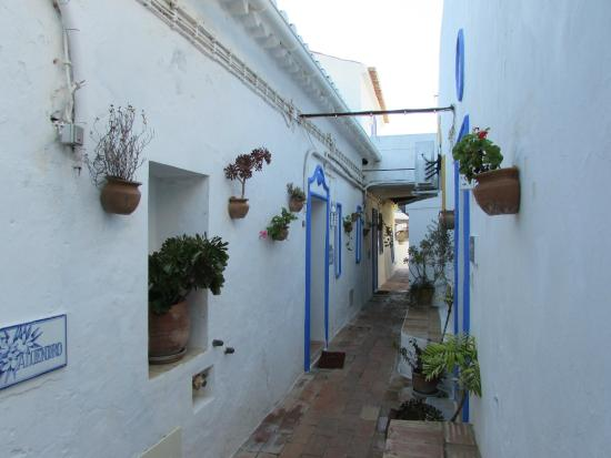 Quinta do Caracol : Doorgang naar appartementjes