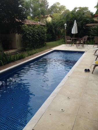 Pousada Samambaia: Vista da piscina