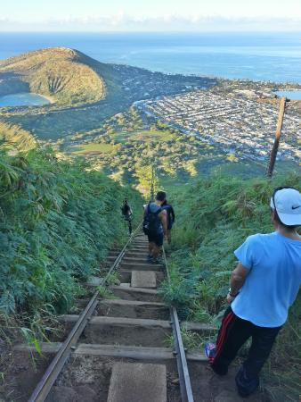 View From The Top Picture Of Koko Crater Trail Honolulu