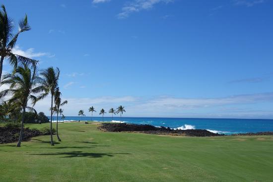 Waikoloa Beach Golf Course: 海沿い