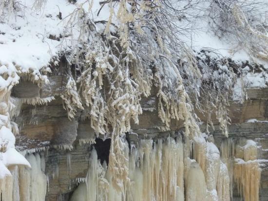 Ontika Limestone Cliff