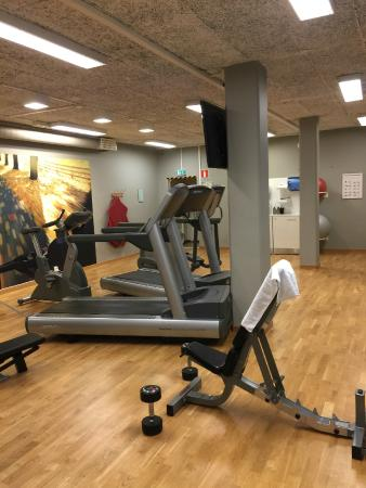 Scandic Linkoping West: Gym