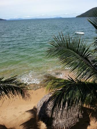 Gîte Guyan: Vue de la chambre