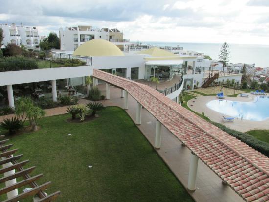 Cerro da Marina Hotel: Cerro mar uitzicht vanaf appartement 2