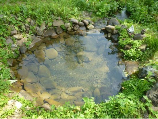 Artybash, Russland: Исчезающий источник с водой