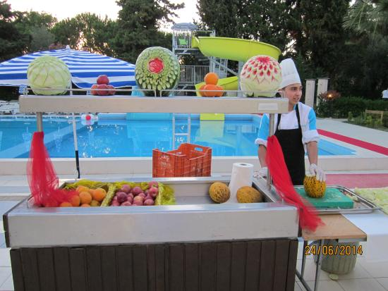 Luana Hotels Santa Maria: праздничный ужин.!
