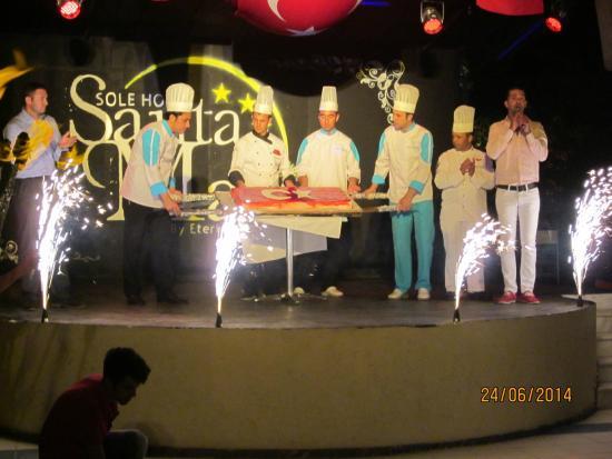 Luana Hotels Santa Maria: Турецкая ночь !