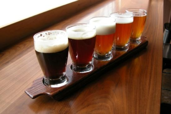 Flatiron Steakhouse : Beer Flight