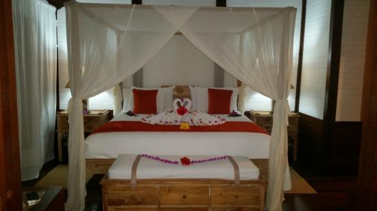Charlestown, Canouan: Bed