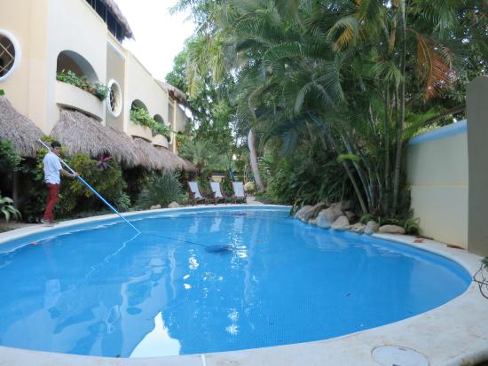 Hotel Villas Sayulita: Very clean and cool pool