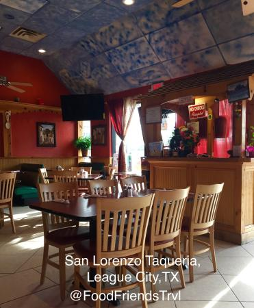 San Lorenzo Taqueria League City Restaurant Reviews