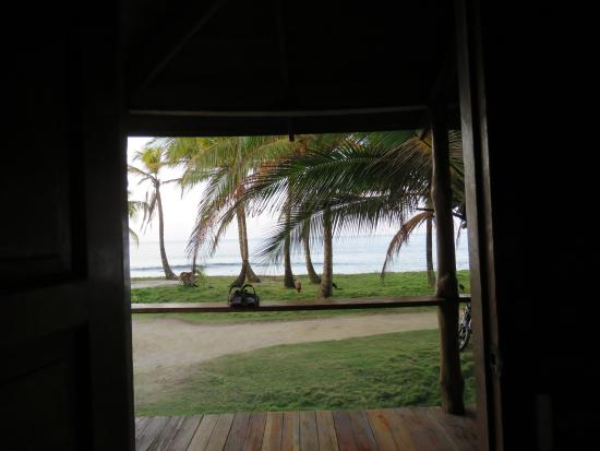 La Princesa de la Isla: View from inside the cabin