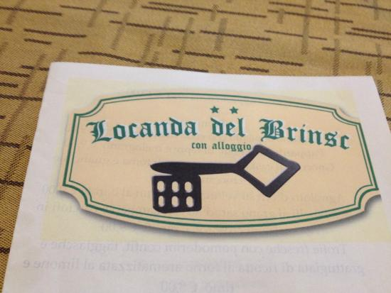LOCANDA DEL BRINSC : the locanda
