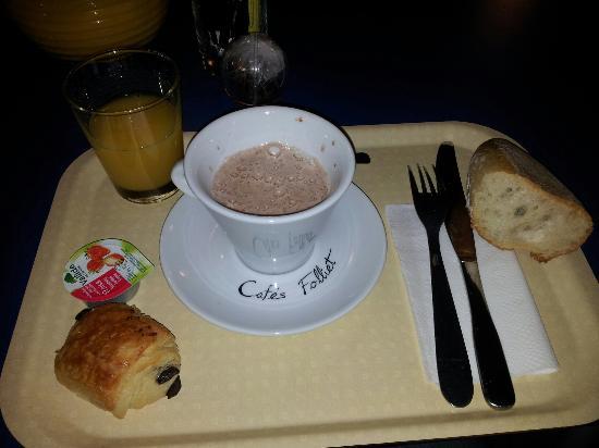 Appart'City Lyon Villeurbanne: Petit déjeuner