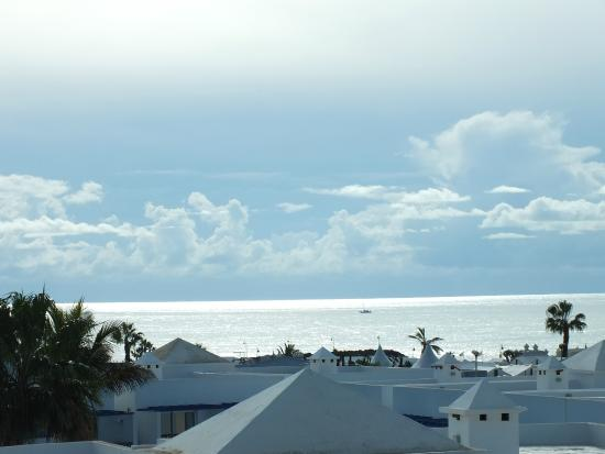 Club Teguisol Apartments: Balcony View