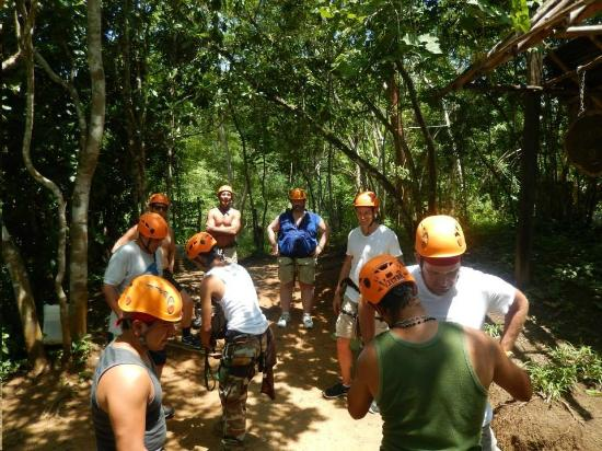 GO GAY! Jungle Adventure : Gearing up for another zip