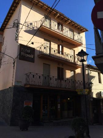 Hotel Ripoll: Fachada