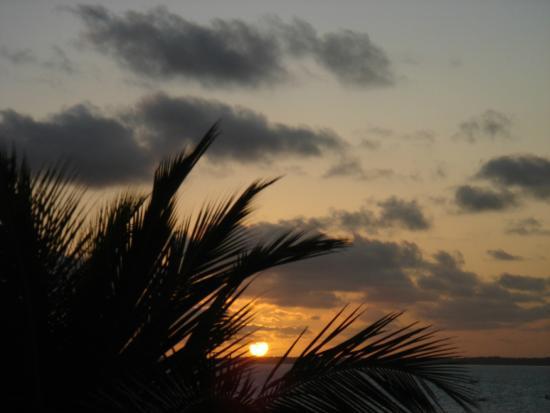 Maruda, PA: nascer do sol - vista do apartamento
