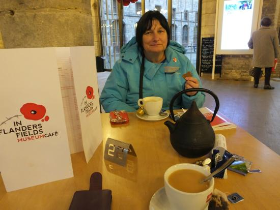 In Flanders Fields Museumcafe: Just The Job..!
