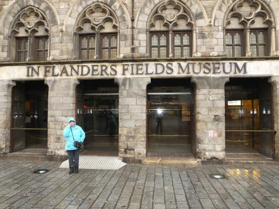 In Flanders Fields Museumcafe: Outside..!