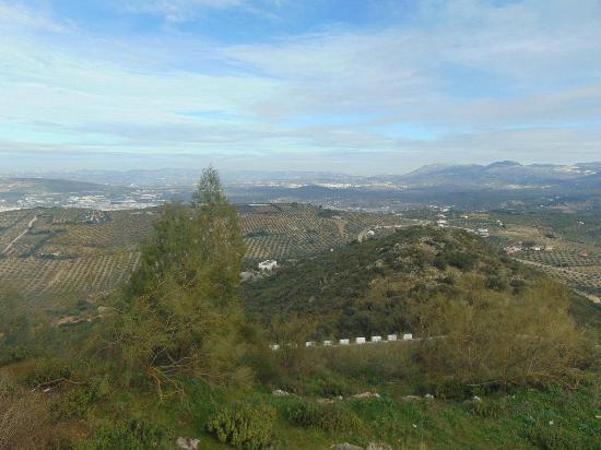 Sierra de Araceli: vistas