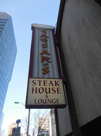 Caesar's Steak House: Outside