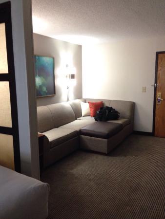 Hyatt Place Atlanta/Alpharetta/North Point Mall : Couch/Sitting Area