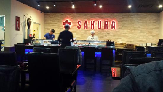 Sakura: Sushi bar