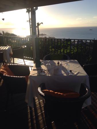 Trade Winds Hotel : Magic sunset