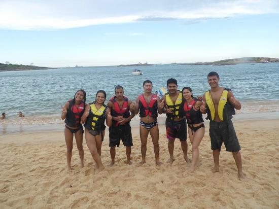 Costa Beach: Passeio na banana boat
