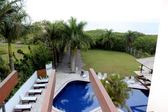 Hotel Torres Da Cachoeira Vista Piscina Do Apartamento