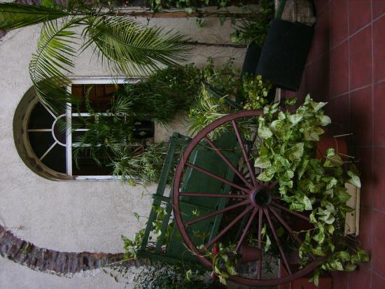 Hotel Parada: Patio