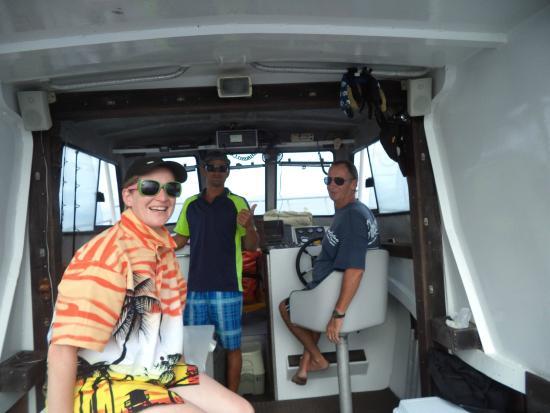 WaHoo Fishing Charters: Happy crew