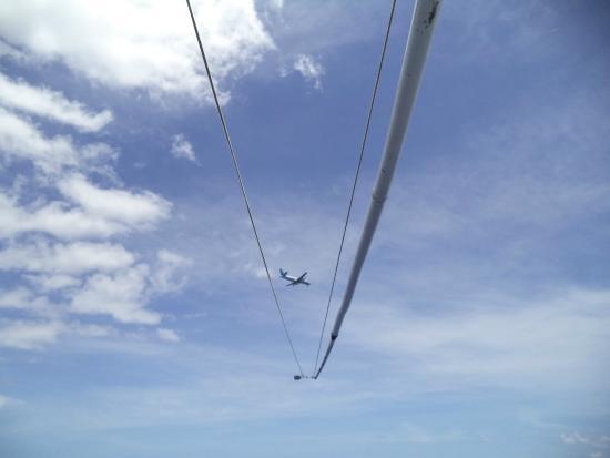 WaHoo Fishing Charters: Plane from Aitutaki
