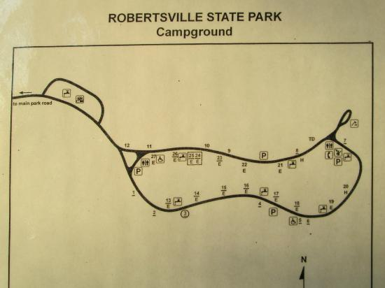 Robertsville, MO: Small campground