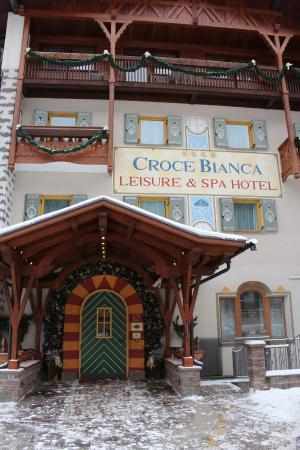 Croce Bianca Leisure & Spa Hotel : Hotel Entrance