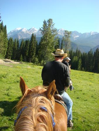 Beaverfoot Lodge: Amazing ride