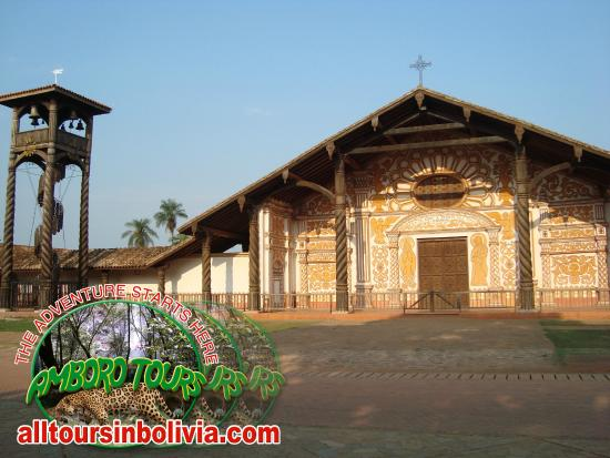 Jesuit Missions of the Chiquitos : Concepcion in the Jesuit  Missions of Chiquitos