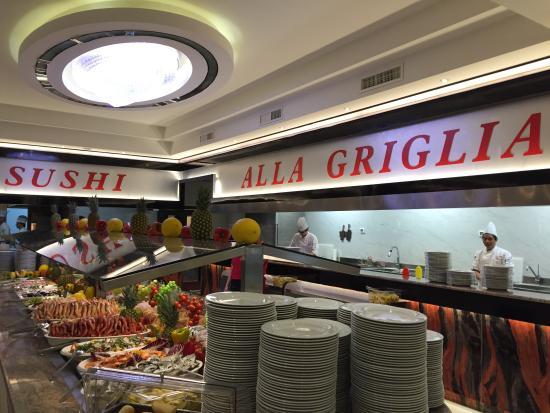 Bresso, Włochy: Sushi griglia