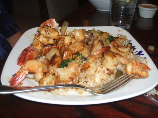 Miyabi S Anese Steakhouse Seafood Combo Dinner